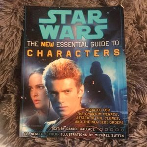 Star Wars essential guide to Characters book